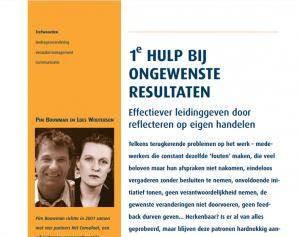 2006 02 01 Effectiever leidinggeven door reflecteren op eigen handelen