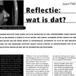 Reflectie, wat is dat?